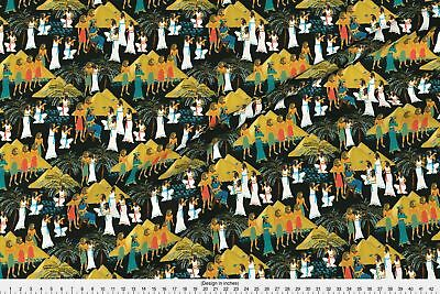 Pharaoh Pyramids Ancient Egypt Egyptian Fabric Printed by Spoonflower BTY