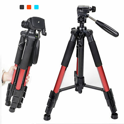 ZOMEI Q111 Red Heavy Duty Travel Tripod&Pan Head Aluminum for Camera &Camcorder