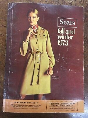 1973 Sears Roebuck & Co. Catalog Fall & Winter