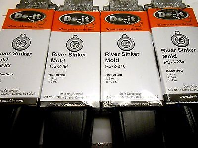 ROCK ISLAND DO-IT CLAW SINKER MOLDS I REFUND EXCESS SHIPPING SHIPPING!!!