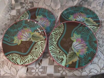 TRACY PORTER VIVRE Embrace The Sweetness Of Life - 4 Salad Plates ...