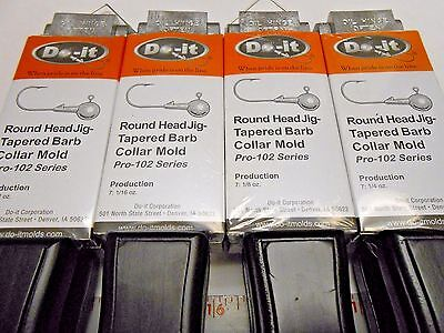ROCK ISLAND DO-IT ROUND SOCKET EYE JIG MOLDS I REFUND EXCESS SHIPPING FEES!