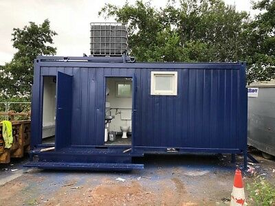 21ft x 9ft Anti vandal male / female toilets and drying rooms - container