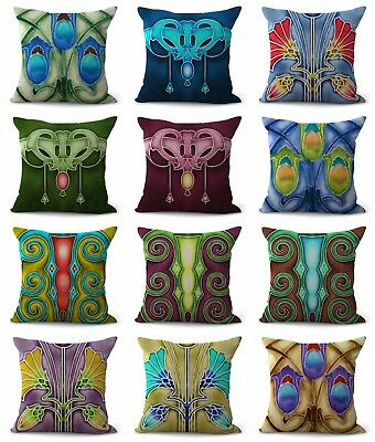 US SELLER-10pcs cushion covers art nouveau throw pillows for wholesale