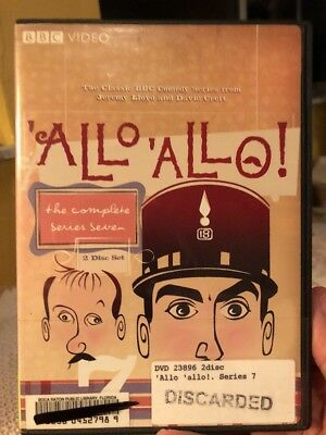 Allo Allo - The Complete Series 7 (DVD, 2008, 2-Disc Set)