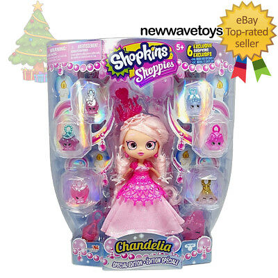 Shopkins Shoppies Special Edition CHANDELIA (IN-HAND & READY TO SHIP)