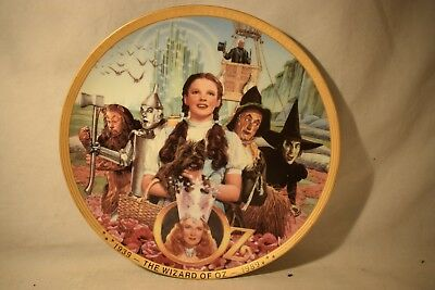 Wizard of Oz 1989 Hamilton Anniversary Plate FIFTY YEARS OF OZ  #0352D  (718)
