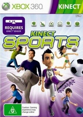 NEW XBOX 360 Kinect Sports SEALED PAL AUS Game