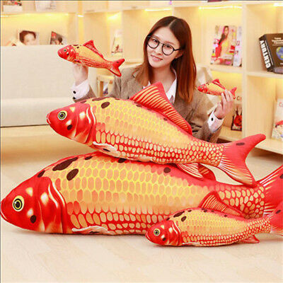 60CM Cute Big Fish Animal Plush Soft Toy Doll Pillow Sofa Stuffed Child Gift