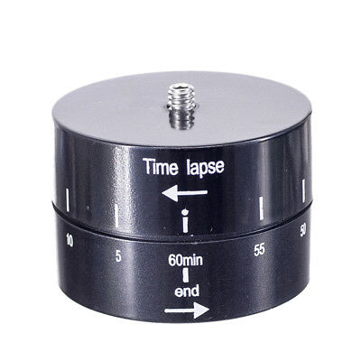 360Degrees Panning Rotating Time Lapse Stabilizer for GoPro Camera Phone SRAU