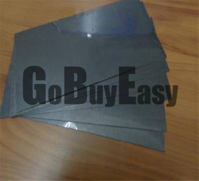 99.99% Black Pure Graphite Electrode Rectangle Plate Sheet 150*50*4mm