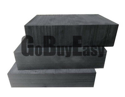100mm 1pcs High Purity 99.9/% Graphite Ingot Block Sheet 100mm 10mm # GY