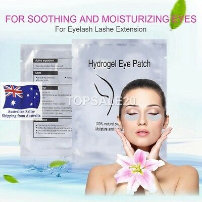 Eyelash Pad Gel Patch Lint Free Lash Extension Eye Mask Beauty Tool