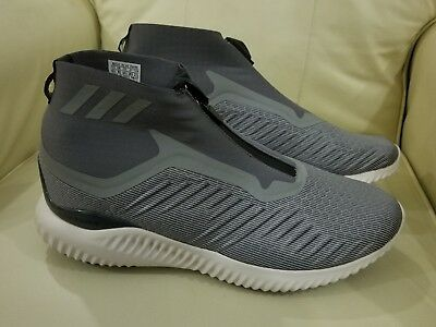 finest selection 302de 0b864 Adidas Alphabounce Zip M Mens Size 13 Running Shoes GreyWhite BW1385 NEW
