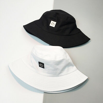 Pure Cotton Adult Bucket Hat Personality Basin Cap Fisherman's Hat New #WE9