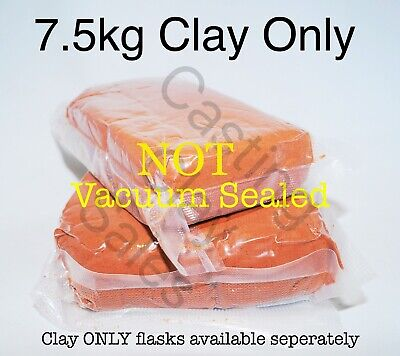 7.5kg Delft Style Casting Clay Sand, For Gold Silver Metal Impression Foundry