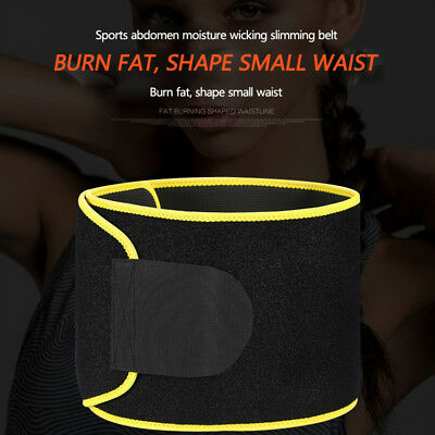 Hot Shapers Belt Slim Fit Body Shaper Belly Waist Tummy Trimmer Fat Sweat Burn