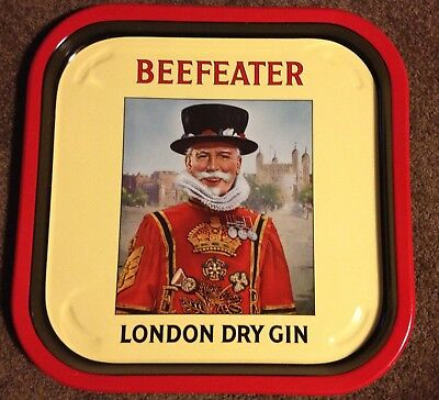 BEEFEATER LONDON DRY GIN DRINKS TRAY (Virtually New)