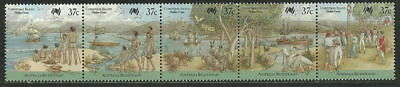 Australia 1988 '' Ships - Arrival Of The First Fleet '' Set  (Mnh)