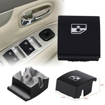 Black Window Switch Button Cover For VAUXHALL OPEL ASTRA MK5 H ZAFIRA TIGRA B