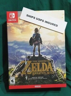 BRAND NEW! Legend of Zelda: Breath of the Wild Special Edition Nintendo Switch