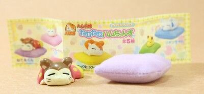 "Hamtaro Capsule Neteru-kun Figure  Authentic 1.5"" Epoch Japan B2074"