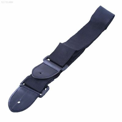 D29B 5912 Adjustable Leather Ends Guitar Strap Electric Acoustic Guitar Fashion