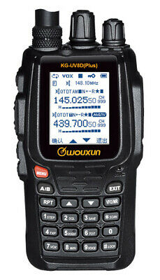 Wouxun KG-UV8D Plus Dual-Band 134-174/400-470MHz Repeater Two-way Radio