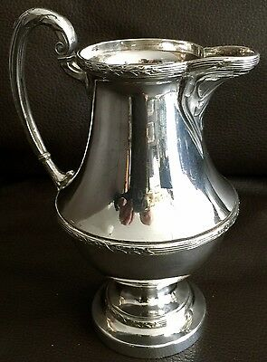 "Antique Victorian (1890s) Mappin & Webb Silver Plated ""Princess Plate"" Creamer"
