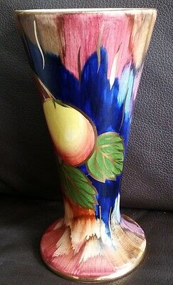 "Rare Art Deco Hand Painted ""J Fryer"" Old Courtware 7.5""/19cm Lustre Ware Vase"