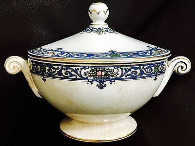 """Rare Antique 1924 Registered Design Royal Worcester """"Coventry"""" Soup Tureen"""