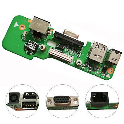 ORIGINAL DELL INSPIRON 1545 DC POWER JACK USB CHARGING BOARD  00829