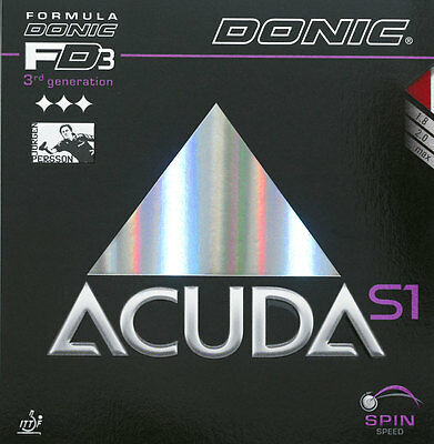 Donic Acuda S1/S2/S3 1,8/2,0/Max mm   Schw/Rot