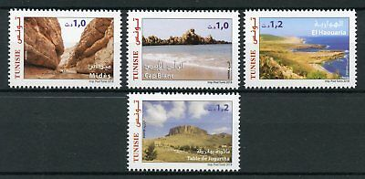 Tunisia 2018 MNH Tourism Mides Cap Blanc 4v Set Mountains Landscapes Stamps