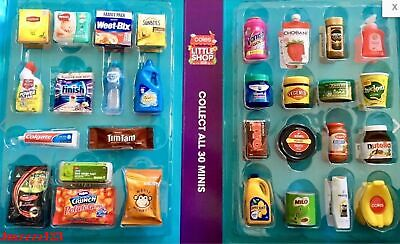 Coles Little Shop Mini Collectables - Toys Craft New Family Collection Kids