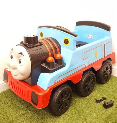 Thomas & Friends 12v Engine Ride On Train Toy 2-Speed Settings Lights & Sounds