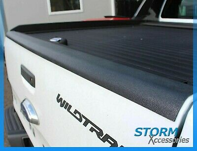 Ford Ranger T6 Wildtrak 2012 ON Tailgate Top Rail Liner - Bed Rail Cap Protector