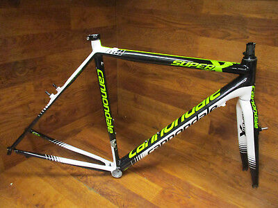 cc451eaa753 Cannondale Super X High Modulus Carbon Cyclocross Cx Cantilvever Frame Set  54Cm