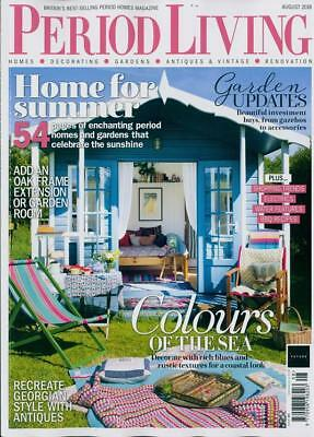 Period Living Magazine August 2018 ~ New ~