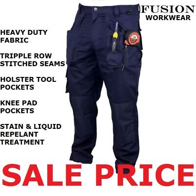Tradesman Work Trousers.knee Pads.tool Pocket,snickers,apache,dickies,tuff,click
