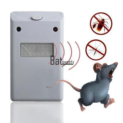 Home Garden Electronic Pest Rodent Repeller Riddex Plus 230V Rats Mice EU Plug
