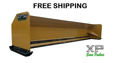 16' Snow Pusher Boxes backhoe loader snow plow Express Steel- FREE SHIPPING-RTR