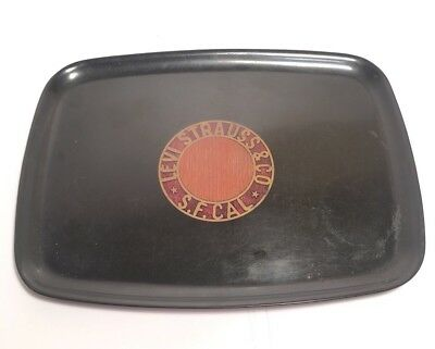 Levi Strauss & Co Serving Tray Limited Edition Couroc California USA Vintage