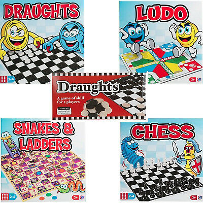 Classic Traditional Family Board Games Kids Childrens Xmas Gift Toys Rainy Day