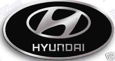 hyundai  iron on  embroidered  patch  patches auto car suv automobile emblem