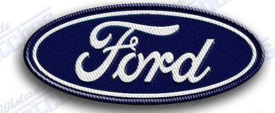 "FORD  AUTO CAR  iron on embroidery patch 3.4"" X 1.6""   PATCHES SUV TRUCK MUSTANG"