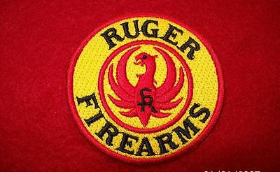 Ruger firearms iron on 100% embroidered patch - Sturm, Ruger & Co guns rifles ,