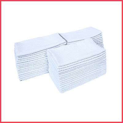 [No Tax] American Dawn Bar Mops, White, Rags, Towels, Wipers,  (48 pk)