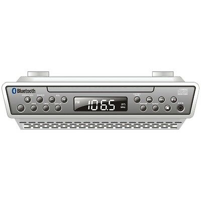Kitchen Under Counter Cabinet Bluetooth Stereo Radio Cd Player Music