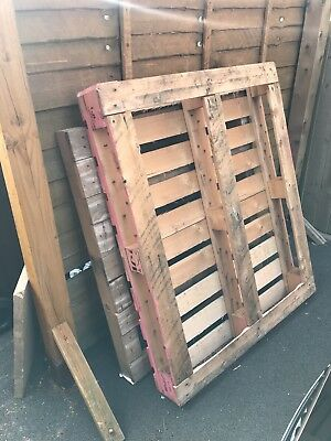 Used Wooden Pallets 500 Picclick Uk